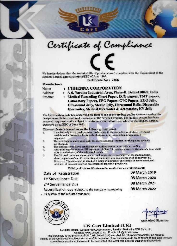 Chhenna corporation iso and ce certification ce certified 1betcityfo Choice Image